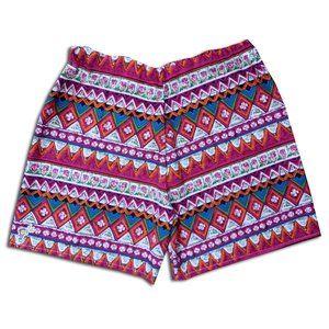 Custom Handmade Bohemian Shorts Unisex PINK